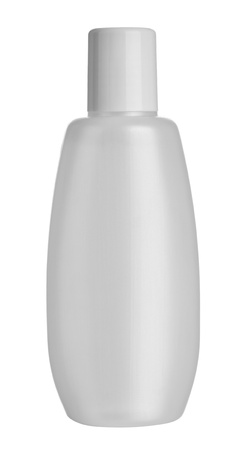 close up of  beauty hygiene container on white background  photo