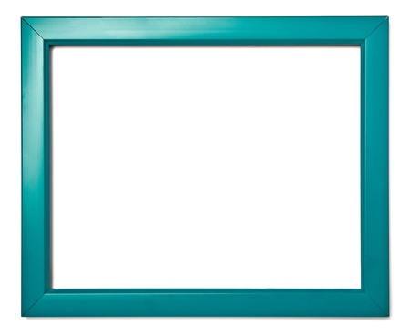 Wooden Frame For Painting Or Picture On White Background Stock Photo ...