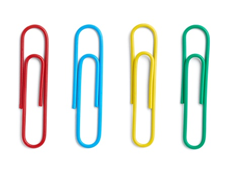 collection of vaus pushpins on white background  each one is shot separately Stock Photo - 15930748