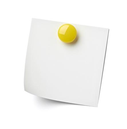 close up of reminder on white background refrigerator Stock Photo - 17022942