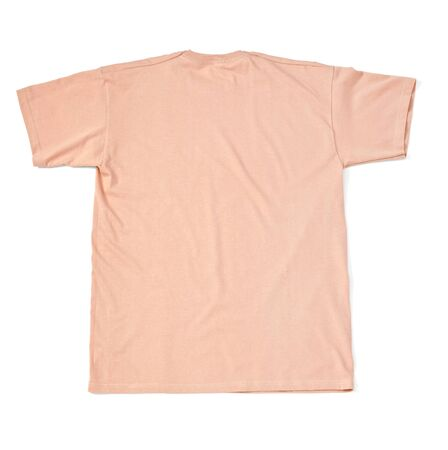 close up of  a t shirt on white background with clipping path Stock Photo - 17870527