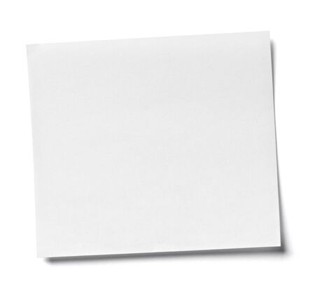 it background: close up of  white note paper on white background