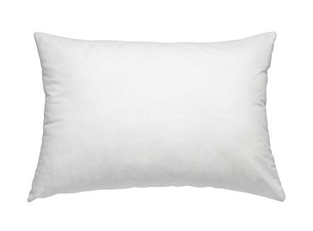 Nahaufnahme von einem weißen Kissen auf weißem Hintergrund Standard-Bild - 37451746