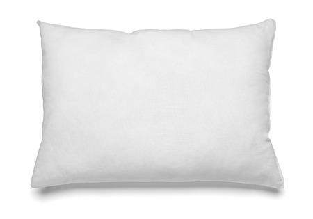 Nahaufnahme von einem weißen Kissen auf weißem Hintergrund Standard-Bild - 37451747