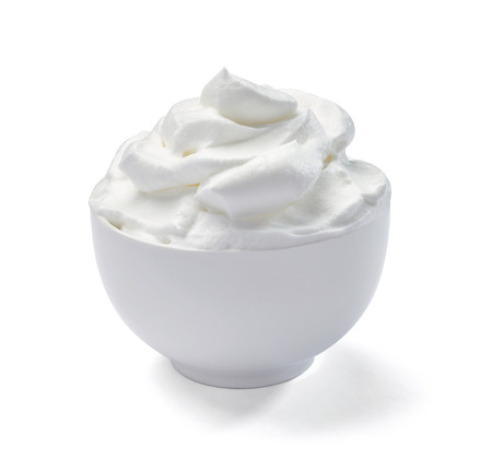 whipped: whipped sour cream