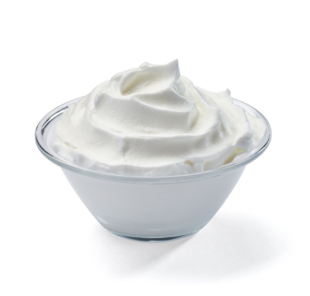 whipped cream: whipped sour cream