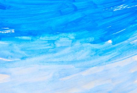 Aquarell Hintergrund Standard-Bild - 41757335