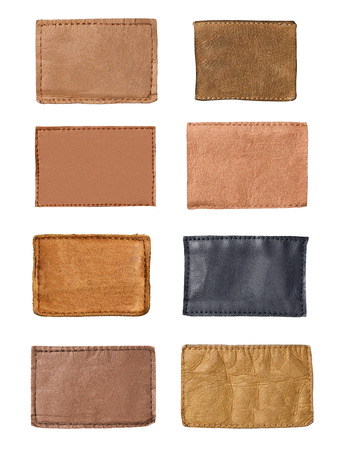 leather: jeans labels