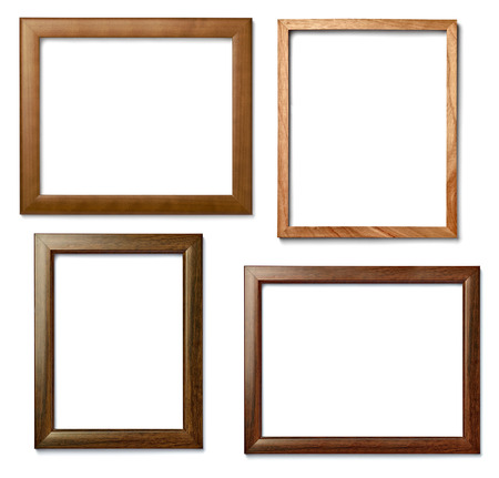 office wall: frames