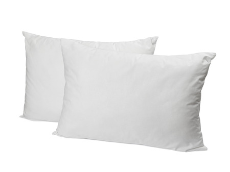 white pillow: pillow
