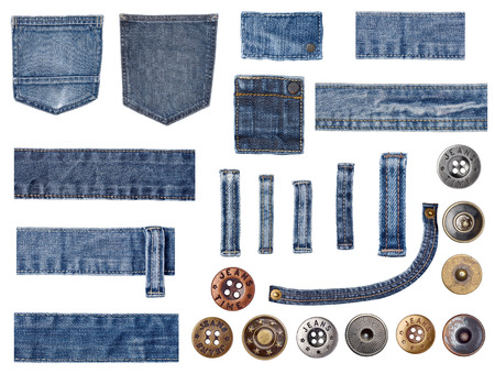 worn jeans: jeans Stock Photo