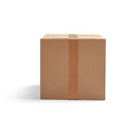 Caja  Foto de archivo - 54204570