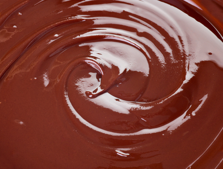 molted: close up of chocolate syrup