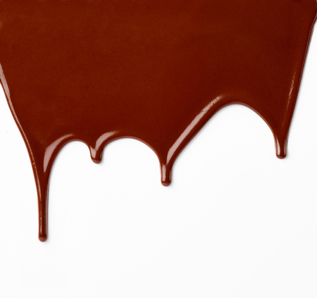 molted: chocolate syrup Stock Photo
