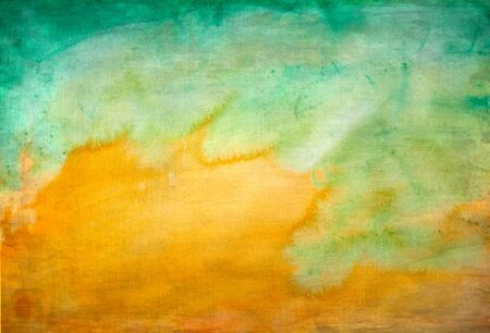 yellow green: watercolor background