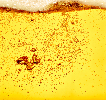 close up of beer Stock Photo