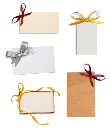 npte paper with ribbon