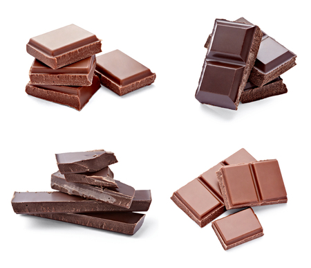 collection of various chocolate pieces