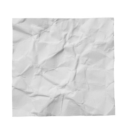 collection of  white ripped pieces of paper on white background. each one is shot separately Reklamní fotografie