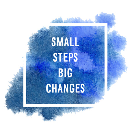 Motivation poster small steps Vector illustration. 向量圖像