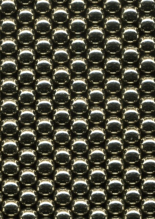 Bearing balls texture photo