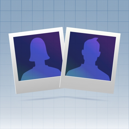 Social network relationship couple template