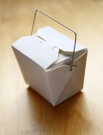 Chinese Food Take Away Box