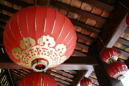 Chinese Lanterns in Chinatown