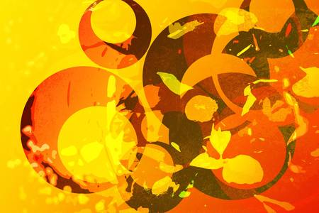 Festive Oriental Abstract background