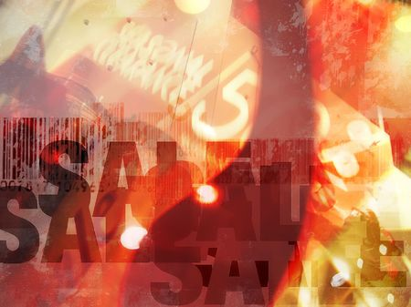 Bargain Sale abstract background concept. Concept for shopping, sale, discount, etc.