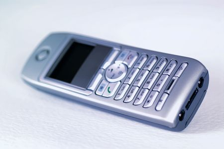 Generic Cordless phone, focus is on the key pads. Intentional selective focus, shallow DOF Stock Photo - 449073