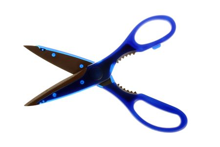 Object Shot of a Scissors. photo