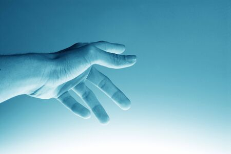 Hi-Tech Pointing hand background. Great as a background or a design element. Stock Photo - 468945
