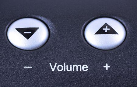 volume shortcut buttons Stock Photo