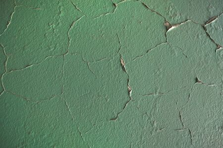 Detail of peeled paint as a texture Standard-Bild
