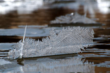 Vertical Rotating Ice