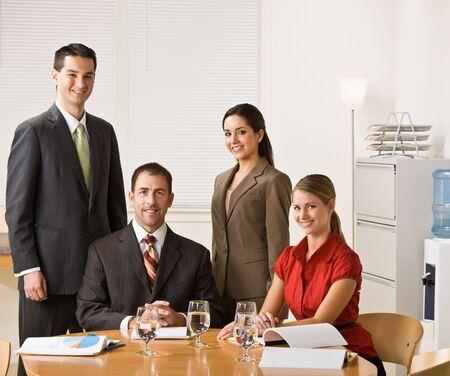 Business people in a meeting Foto de archivo