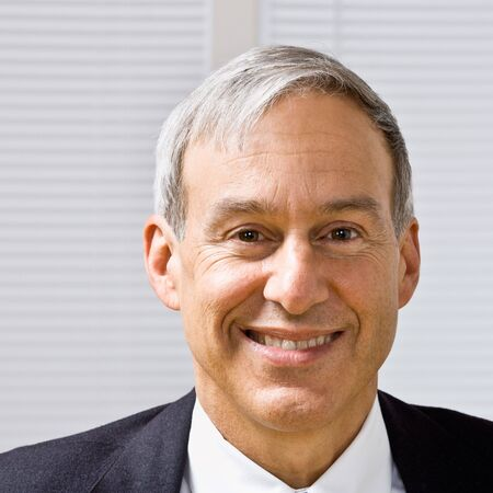 Businessman smiling photo