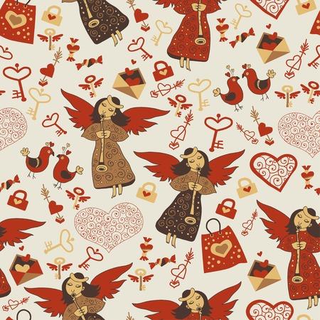 love wallpaper: Amor wallpaper wiht �ngeles lindos Vectores