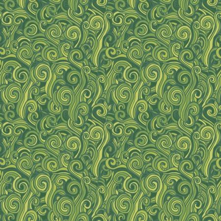 patrik: Seamless abstract hand-drawn waves Background Illustration