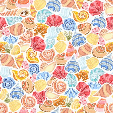 Bright shell pattern