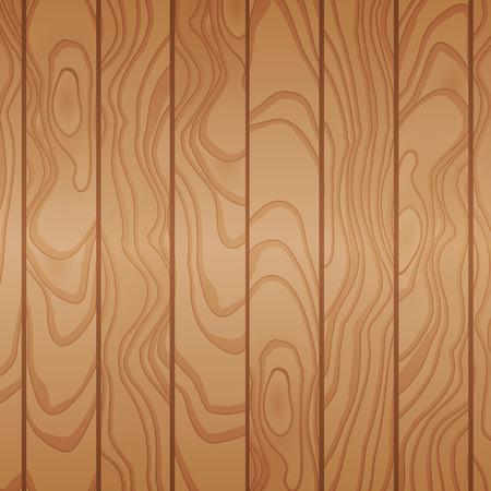 Cartoon houten tafel achtergrond. Planken. Vector illustratie. Textuur van een boom. Lichtbruin houtachtig oppervlak. Achtergrond van planken