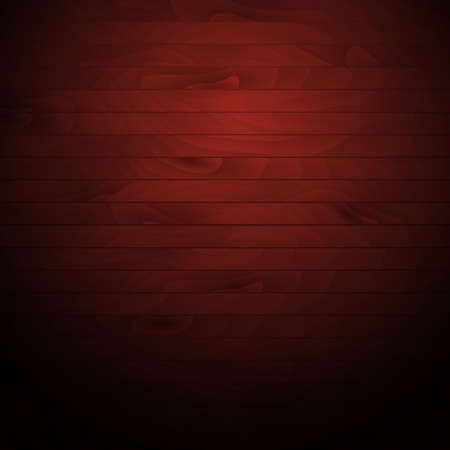 Cartoon wooden table background. Planks. Vector illustration. Texture of a tree. Red brown woody surface. Backdrop of boards Ilustrace
