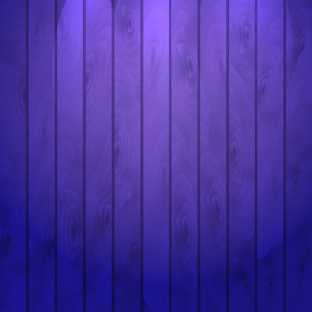 Cartoon wooden table background. Planks. Vector illustration. Texture of a tree. Dark purple woody surface. Backdrop of boards