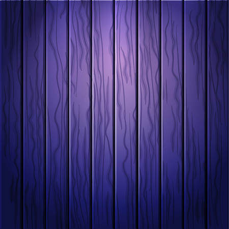 Cartoon wooden table background. Planks. Vector illustration. Texture of a tree. Dark purple woody surface. Backdrop of boards Illustration