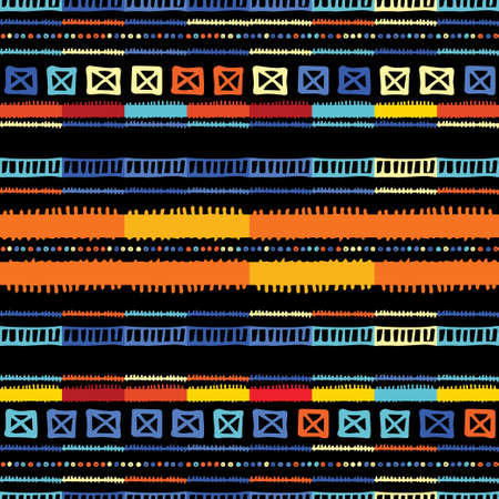 Abstract zigzag pattern for cover design. Retro