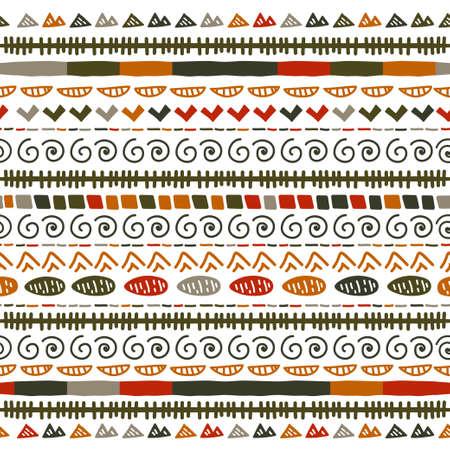 Ikat geometric stripe pattern. Tribal ethnic theme