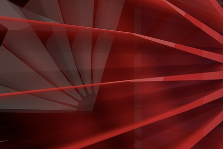 turbine close up motion 3d abstract concept rendering