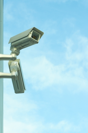 fastens: security cam Stock Photo