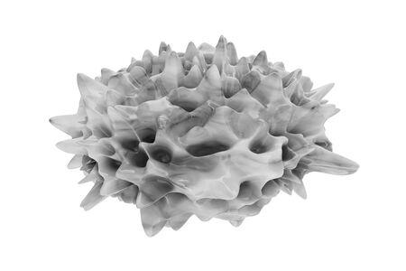 Psoriasis - 3d rendered illustration illustration